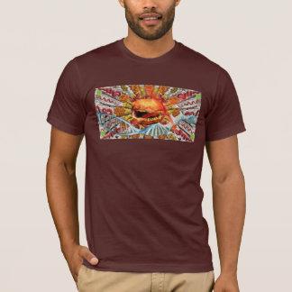 Burger. T-Shirt