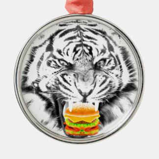 Burger tiger.jpg silbernes ornament