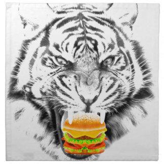 Burger tiger.jpg stoffserviette