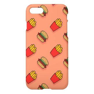 Burger und Fischrogen iPhone 7 Fall iPhone 8/7 Hülle