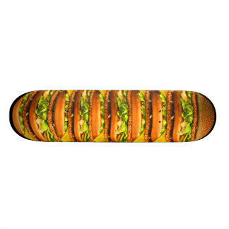 BurgerBoard Bedrucktes Skateboard