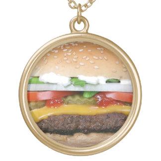 Burgerhalskette Vergoldete Kette