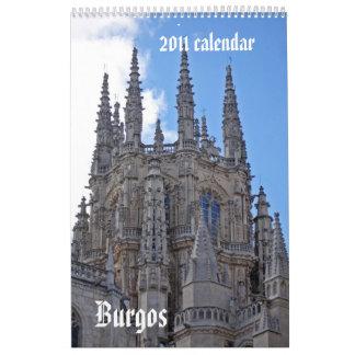 Burgos-Kalender 2011 Wandkalender