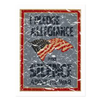 Bürgschafts-Ergebenheit - 1941 - beunruhigt Postkarte
