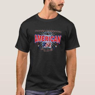 Bürgschafts-Ergebenheits-amerikanischer Patriot T-Shirt