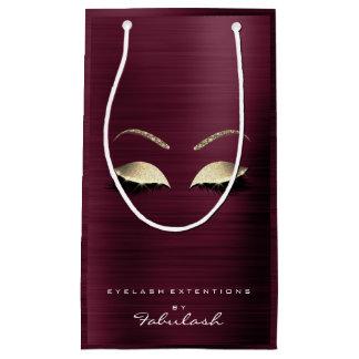 Burgunder-GoldGlitter-Make-up peitscht Schönheit Kleine Geschenktüte
