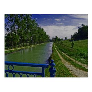 Burgunder-Kanal Postkarte