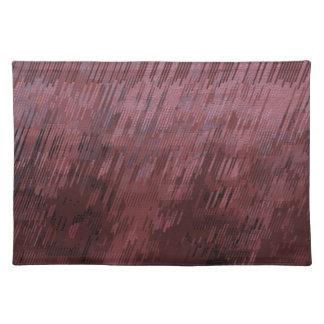 Burgunder-Regen Tischset