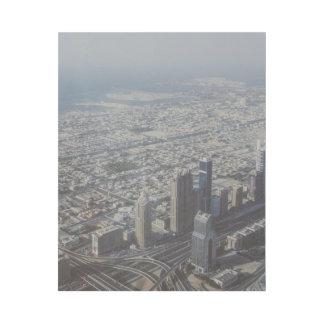 Burj Khalifa Ansicht, Dubai Galerieleinwand