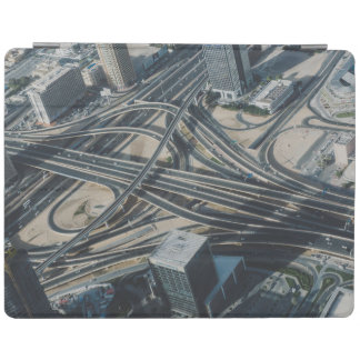 Burj Khalifa Straßenansicht, Dubai iPad Hülle