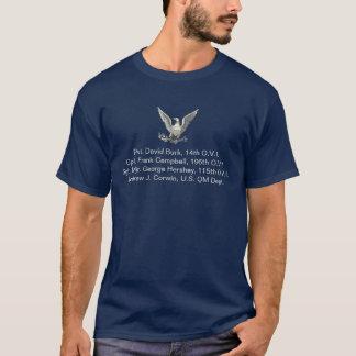 Burk-Campbell Familien-zivile Kriegs-Veterane T-Shirt