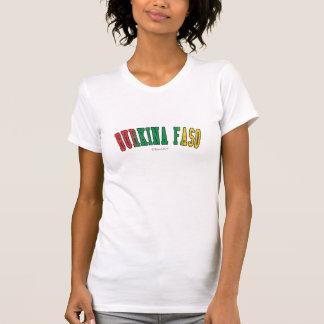 Burkina Faso in den Staatsflaggefarben T-Shirt