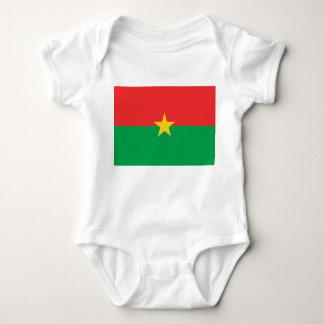 Burkina Faso nationale Weltflagge Baby Strampler