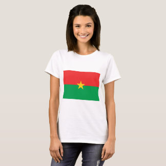 Burkina Faso nationale Weltflagge T-Shirt