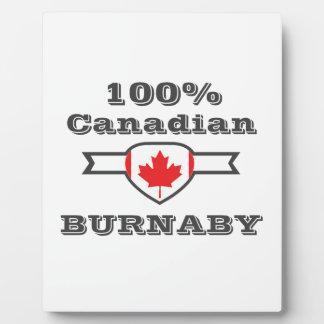 Burnaby 100% fotoplatte
