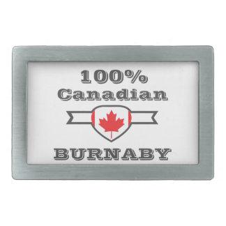 Burnaby 100% rechteckige gürtelschnalle