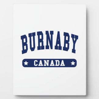 Burnaby Fotoplatte