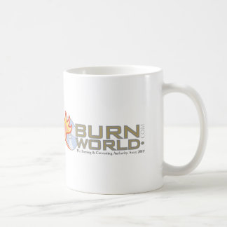 BurnWorld.com DVD u. Blu Ray-Brennen Kaffeetasse