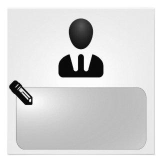 Büro - Arbeit Personalisierte Ankündigungen