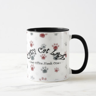 Büro-Katzen-Dame Tasse