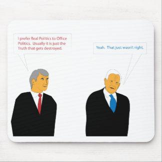 Büro-Politik Mauspads