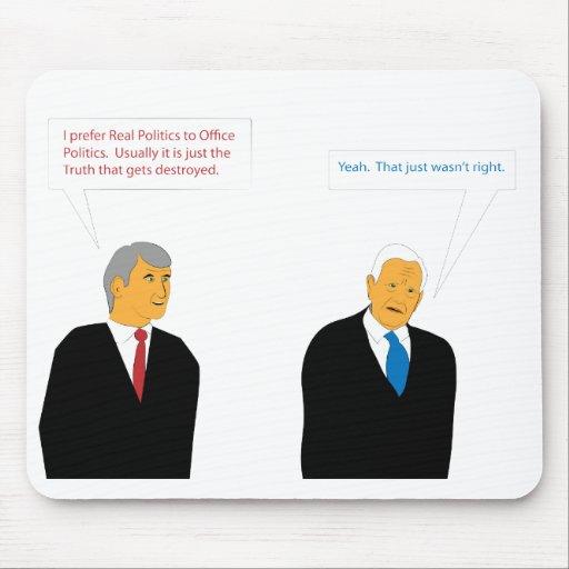 Büro-Politik Mousepad