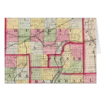 Büro, Putnam, steif, Marshall-Landkreise Karte