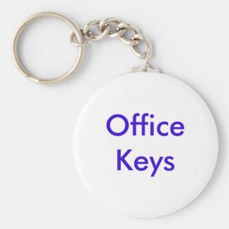Büro-Schlüssel Standard Runder Schlüsselanhänger