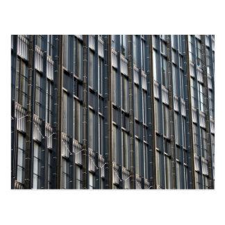 Büro-Windows-Stadt von London Postkarte
