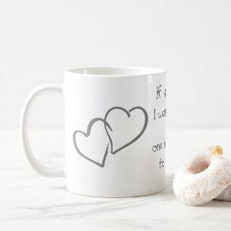 Büro-Zuhausehochzeit personifizieren der Kaffeetasse