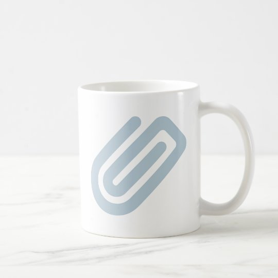 Büroklammer paper clip kaffeetasse