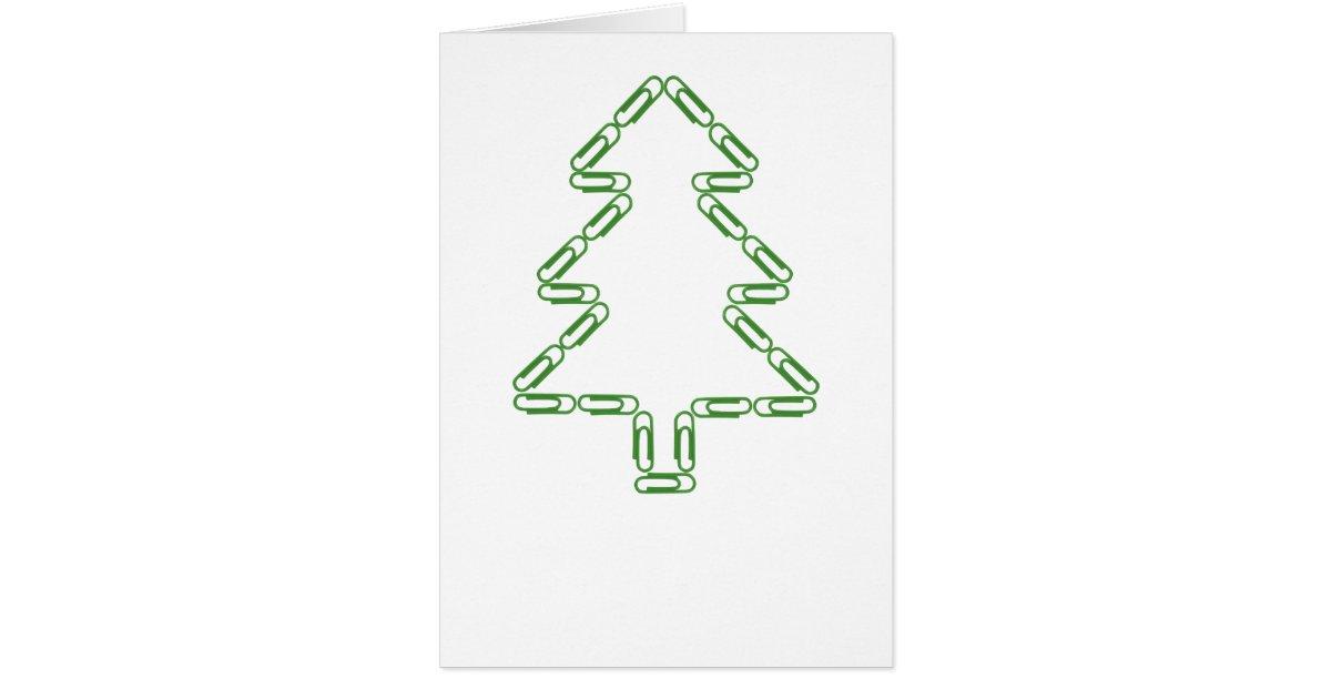 B roklammer weihnachtsbaum schablone gru karte zazzle - Weihnachtsbaum schablone ...