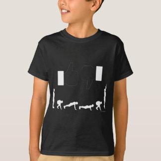 Burpee greift HERAUF _Dark Gaments ab T-Shirt