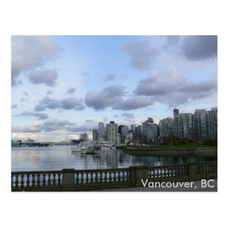 Burrard Einlass - Vancouver, BC Postkarte