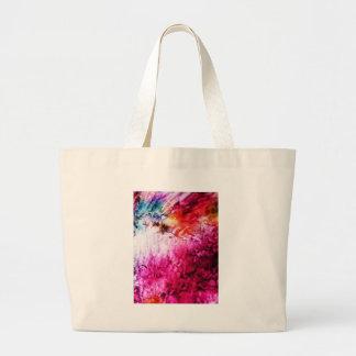 Bürste streicht helles Rosa Farben-kreatives Digit Jumbo Stoffbeutel