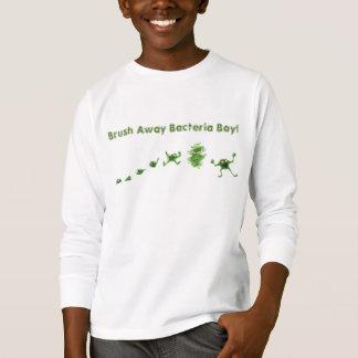 """Bürsten-der T - Shirt weg"" Bakterien Boy® Kindes"