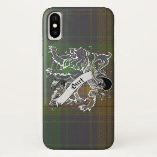 Burt Tartan-Löwe iPhone X Hülle