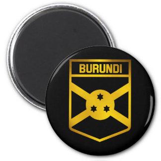 Burundi-Emblem Runder Magnet 5,7 Cm