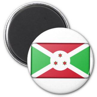 Burundi-Flagge Runder Magnet 5,7 Cm