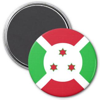 Burundi-Flagge Runder Magnet 7,6 Cm