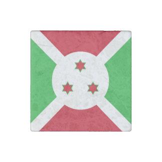 Burundi-Flagge Stein-Magnet