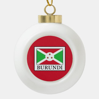 Burundi Keramik Kugel-Ornament