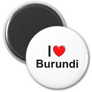 Burundi Runder Magnet 5,7 Cm
