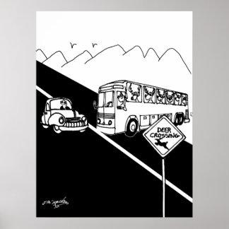 Bus-Cartoon 3251 Poster