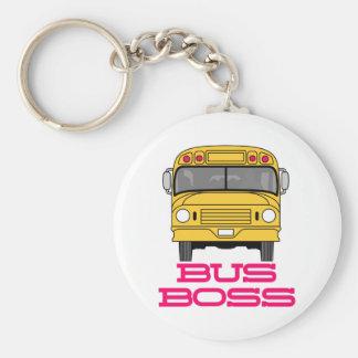 Bus-Chef Schlüsselanhänger