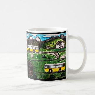 Bus-Reise Kaffeetasse