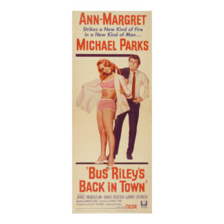 Bus Riley's Back in Town ,(1965) Poster