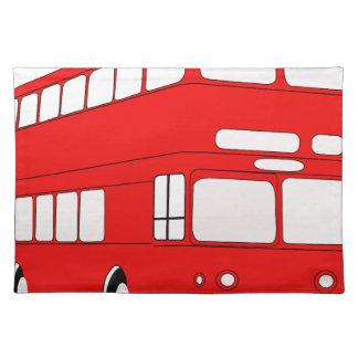 Bus Stofftischset