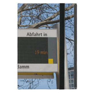 Bus-Stoppschild in Berlin iPad Mini Schutzhülle