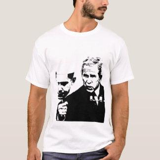 Busch mit Obama-Maske T-Shirt
